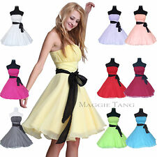 Formal Bridesmaid Cocktail Birthday Evening Wedding Prom Party Dress 12 Color