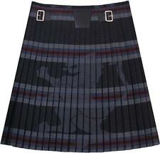 Lion Heart, 100% Wool, Traditional Scottish 7 Yard Casual Modern Designer Kilts.