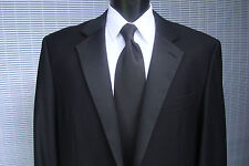 Contemporary Black Two Button Tuxedo Jacket