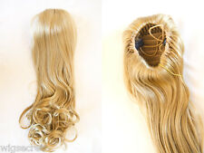 Premium Quality Hair Piece With Draw String and Straight and Wavy Hair 22 inches