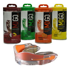 MOGOSPORTS PERFORMANCE SERIES SPORTS FLAVORED MOUTHGUARD, CHOICE OF 4 FLAVORS