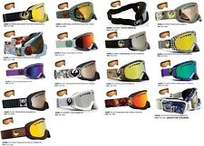 NEW Dragon DX mirror & EXTRA lens mens ski snowboard goggles ALL STYLES Msrp$100