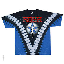 New RUSH Starman Tie Dye T Shirt