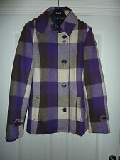 Gorgeous OXBOW Purple Checked Jacket NWT RRP £120 BARGAIN! LAST 2 LEFT!!