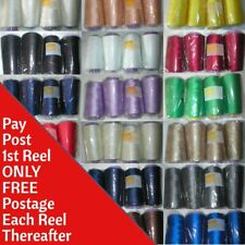 5000m x4 Sewing Machine & Overlocker Polyester Thread Choice Colours Top Quality