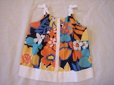 NWT Girl's Gymboree Tropical Bloom tank top flower shirt ~ 3-6 months 2 2T 3 3T