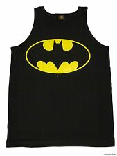 Batman Classic Logo Symbol Officially Licensed  DC Comics Adult Tank Top S-2XL