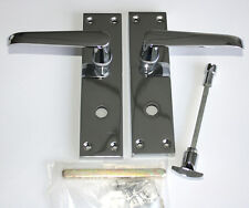 CONTRACT DOOR HANDLES -Victorian Straight Lock Bathroom -30, 15, 5 & 1prs avail