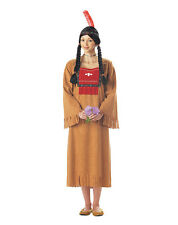 RUNNING BROOK NATIVE INDIAN COSTUME WOMEN FANCY DRESS HALLOWEEN & SCHOOL PLAY