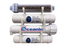 Oceanic Water Heavy Duty Aquarium Reef Reverse Osmosis Water Filter System