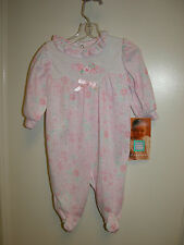 NWT Little Me Girls Size 3,6,9 Month Pink One-Piece Outfit