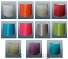 "8"" 10"" 12"" Empire Drum Silk Fabric Lampshade Table Lamp Ceiling Light Shade NEW"