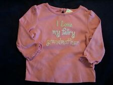 NWT Girl's Gymboree Fairy Wishes pink long sleeve shirt ~ 6 12 18 months 3 3T