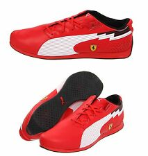PUMA FERRARI MEN'S EVOSPEED F1 SF SPORT RACE CAR SNEAKERS SHOES ROSSO RED