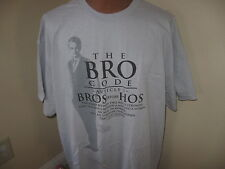 """New Mens How I Met Your Mother T Shirt The Bro Code Article I """"Bros Before Hos"""""""
