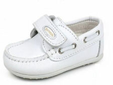 Boys White Shoes Moccasins Leather New Weddings Christenings Baby Infant New