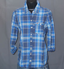 Hollister by Abercrombie Womens Plaid Shirt