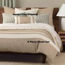 6 PIECE 2100 HOME SERIES ULTRA LUXURY SOFT DEEP POCKET BED SHEET SET ALL SIZES