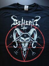 beherit t shirt black metal death proclamation blasphemy black witchery burzum