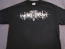nokturnal mortum logo t shirt black metal death 1349 mayhem beherit ghost burzum