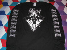 katharsis forth reich longsleeve t shirt black metal death beherit venom burzum