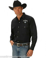 JACK DANIELS Style 11 LONG SLEEVE MENS WESTERN SHIRT JD OFFICIAL MERCHANDISE