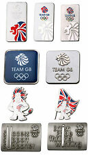 Team GB Olympic Silver Lion Union Flag British Pin Badge Souvenir Christmas Gift