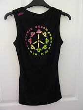 OXBOW Black Acacia ARTWORKS Vest Top NWT