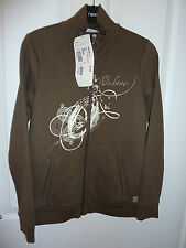 Gorgeous OXBOW Brown Adelya Zipped Sweat NWT