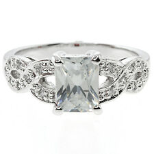 3.00 Ct White Color Cubic Zirconia CZ 925 Sterling Silver Ring