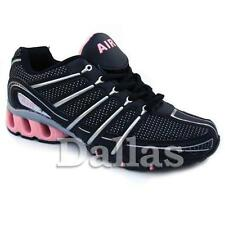LADIES TRAINERS WOMENS GIRLS SPORTS RUNNING JOGGING GYM WALKING SHOES SIZE 3 - 8