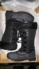 NEW Baby Phat Women's Squirt Boots Lace Up: Black  retail $69