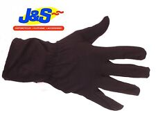 J&S COTTON INNER GLOVE MOTORCYCLE MOTORBIKE CYCLES SKI WALKING SCOOTER WINTER