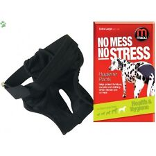 MIKKI DOG HYGIENE PANTS NOW MESS NO STRESS FOR DOGS BITCHES ON HEAT IN SEASON