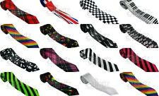 New Mens Ladies Unisex Ties lots of styles back in stock! Striped Checked Tartan