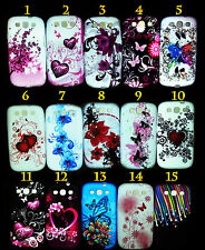 NEW Samsung Galaxy S3 S 3 III i9300 Soft Gel Silicone Fitted Cases/Skin Cover