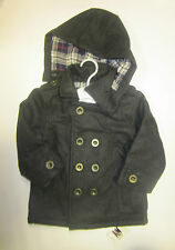 Baby boys coat ex store Mothercare wool blend 6 9 12 18 24 36 months **RRP £37**