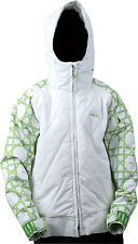 Foursquare Candy Ski Snowboard Jacket White Youth