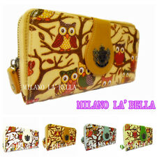 Authentic LYDC Owl Designer Animal Print Women Ladies Purse Wallet Gift Boxed