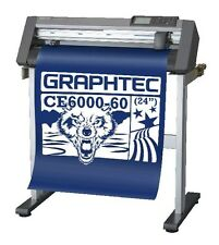 Graphtec CE6000-60 Cutter/Plotter. Cut various media inc. Sign Vinyl & Flex