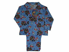 BOYS PYJAMAS MIKE THE KNIGHT FLANNEL 1-4 YEARS OLD