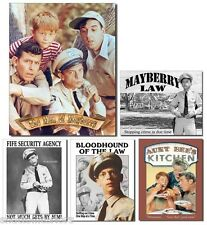 """ONE (1) ~NOSTALGIC STYLE ANDY GRIFFITH TIN SIGN~ 16"""" ~YOUR CHOICE OF SIGN~ NEW!"""