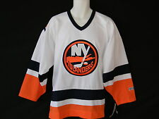 New York Islanders CCM Hockey Jersey White Mens Sizes NHL Logo Tags Stitched New