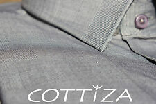 COTTIZA - 2 Ply 100% Egyptian Cotton Mens Business Formal Dress Shirt
