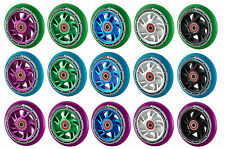 Team Dogz Pro 100mm Alloy Core Stunt Scooter Wheel Abec 9 Blue Purple Red Green