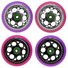 Pro 100mm Alloy Metal Core Stunt Scooter Wheels compatible with Slamm MGP JD Bug