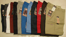 DICKIES Mens 85283 Double Knee Work Pants Waist 38 40 42 44  Inseam 30 32 34 NWT