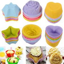 5 Styles Silicone Cake Muffin Chocolate Cupcake Case Liner Baking Cup Mould DIY