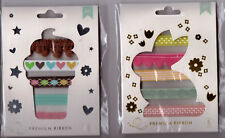 Am. Crafts Ribbon sets of 6 different ribbons =24 total ft! Nice!! So Useful!!