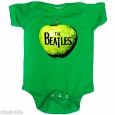 Body bimbo the Beatles Green Apple mela ufficiale Infant snapsuit onesie